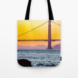 Golden Gate Bridge, San Francisco #decor #society6 #buyart Tote Bag