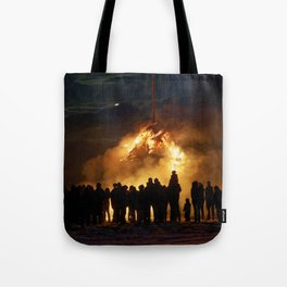 Easter full moon - the winter is over Tote Bag