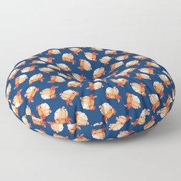 Blue Bondage Floor Pillow