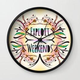Exploit the Weekends Wall Clock