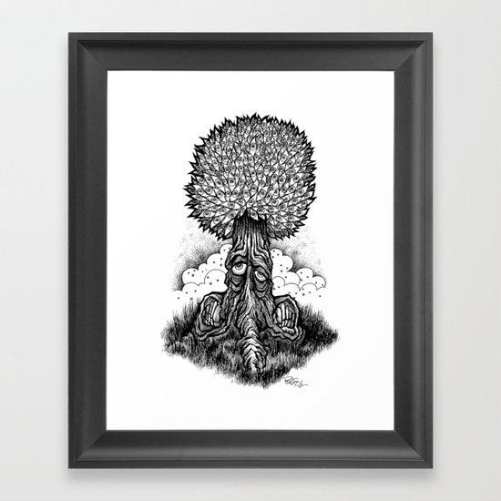 Leaveyes Framed Art Print
