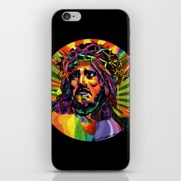 Creator Jesus iPhone Skin