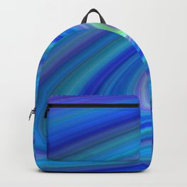 Blue Space Backpack
