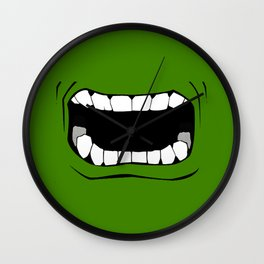 mouth Wall Clock