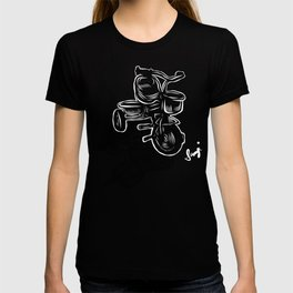 Tricycle in Red T-shirt
