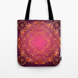 Sari Sunset Tote Bag