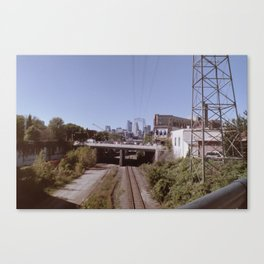 Washed out Minneapolis Canvas Print
