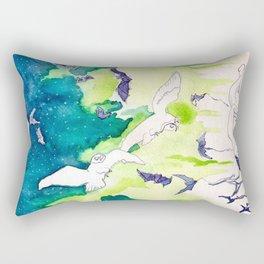 Reve de la Lune Rectangular Pillow