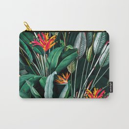 Midnight Garden V Carry-All Pouch