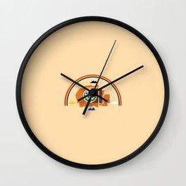 flag of Navajo Wall Clock