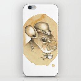Gentleman Chinchilla iPhone Skin