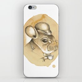 Gentleman Chinchilla iPhone Skin
