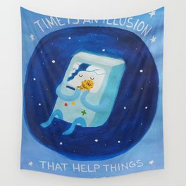 Time adventure Wall Tapestry