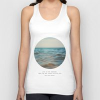 Swim The Sea Unisex Tank Top