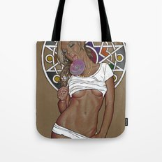 Color nude girl  Tote Bag