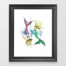 Zodiac - Pisces Framed Art Print