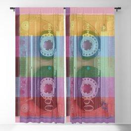 Cassette#tvcolor#VHS Blackout Curtain