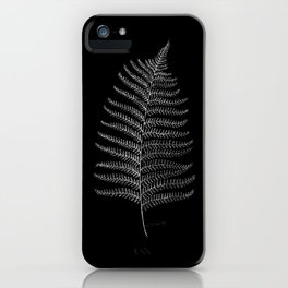 New Zealand Fern Leaf iPhone Case