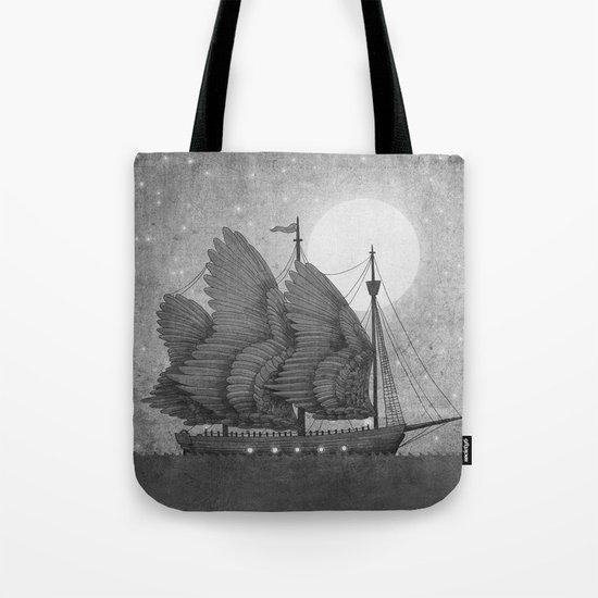 Night Odyssey  Tote Bag