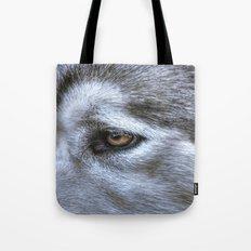 Eye of the dog Tote Bag
