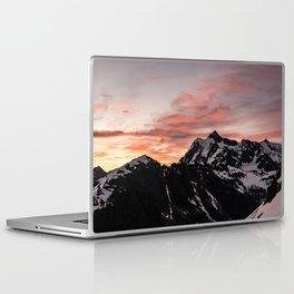 Pink Sky - Cascade Mountains - Nature Photography Laptop & iPad Skin