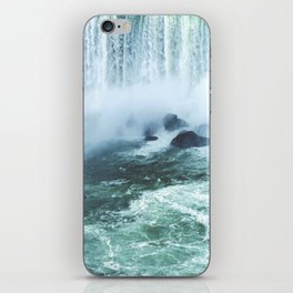 From below where all the water falls, Niagara 03 iPhone Skin