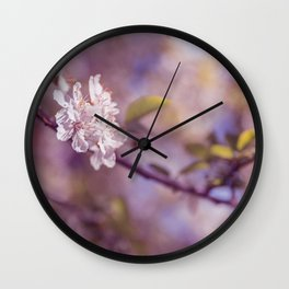 Spring Flowers, Sakura Photography Wall Clock