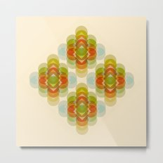 60's Pattern Metal Print
