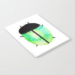 Emerald Beetle Journal Notebook