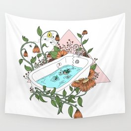 bathtime Wall Tapestry