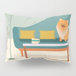 A Pomeranian Makes A House A Home Pillow Sham