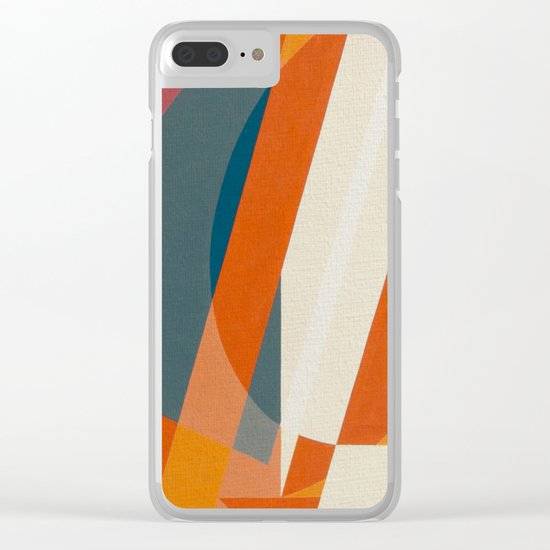 Sailing Dinghy Clear iPhone Case
