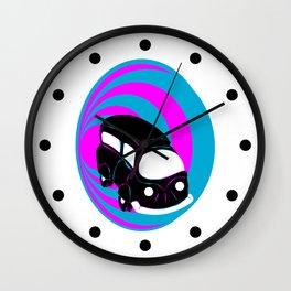 Time Machine Wall Clock