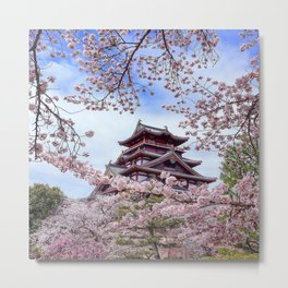 Himeji Castle Metal Print