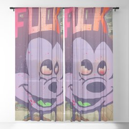 Mick F!ck Sheer Curtain