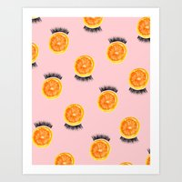 Citrus Lash Art Print