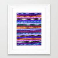 gem Framed Art Prints featuring Gem by Erin Jordan