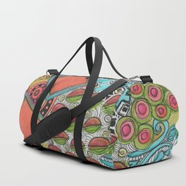 Clustered together Duffle Bag