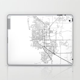 Minimal City Maps - Map Of Boulder, Colorado, United States Laptop & iPad Skin