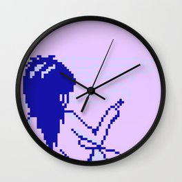 Cold Spectral Babes Wall Clock