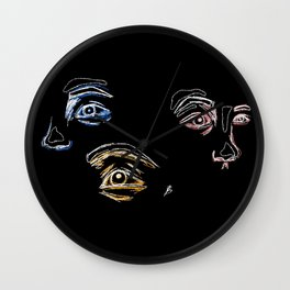 The Primaries Wall Clock