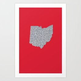 Ohio Shine Art Print