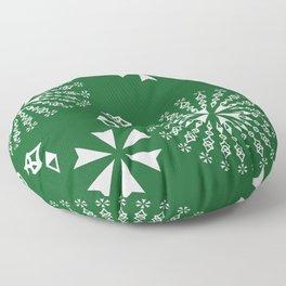 sacred magic pattern Floor Pillow