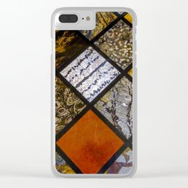 Textures. Clear iPhone Case