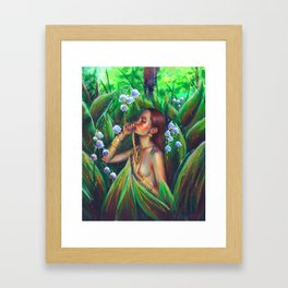 Made of the sun Framed Art Print