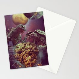 Godzilla VS Gamora  Stationery Cards