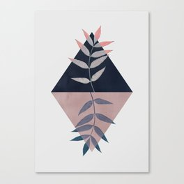 Geometry and Nature 3 Canvas Print