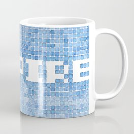 Inspire watercolor mosaic Coffee Mug