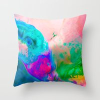 Thaw Throw Pillow