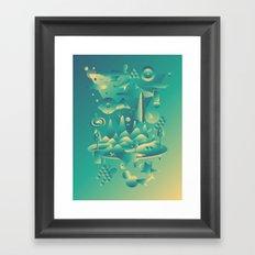Geometromorphic Dream Framed Art Print